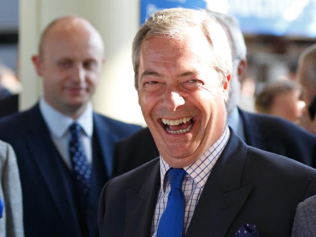 Nigel Farage: 'I would do a Donald.'