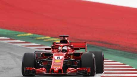Sebastian Vettel has grabbed pole for the German GP.
