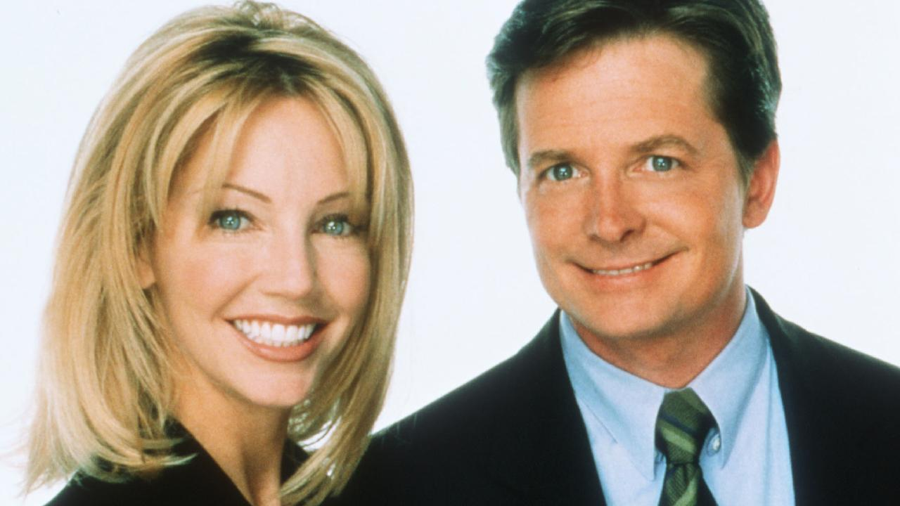 Heather Locklear starred with Michael J. Fox in political sitcom Spin City.