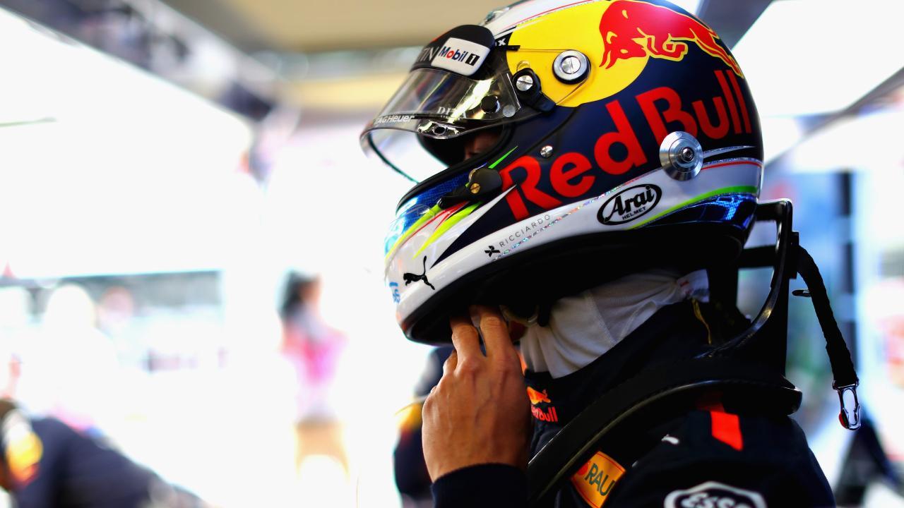 Daniel Ricciardo finished fourth in practice at the Austrian GP. Picture: Mark Thompson/Getty