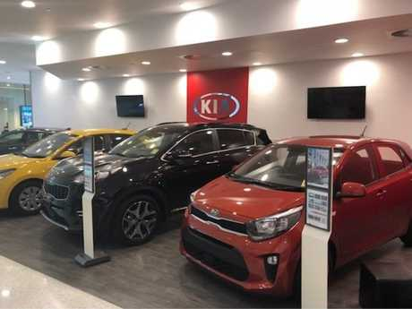 The new Kia store.