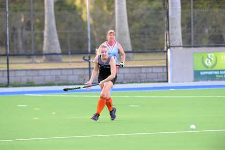 Meteors player Joanna Homman in the game against Wanderers at Kalka Shades.
