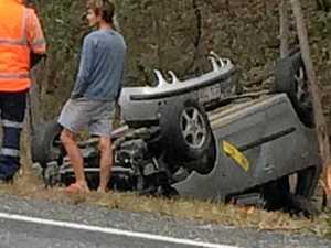 UPDATE: Highway traffic still flowing after Curra crash