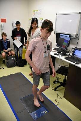 Visitors to CQUniversity rotated between sessions focused on robotics, virtual reality, nanoparticles, river health, wind generation, walking gait analysis, and rapid prototyping.