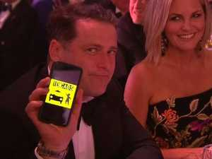 Stars go wild inside the Logies