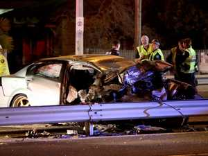 Ipswich driver dies, kills two in horrific head-on smash