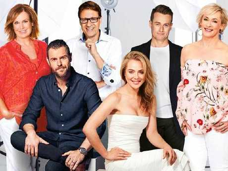 Marais along with Tracy Grimshaw, Rodger Corser, Andrew Winter, Grant Denyer and Amanda Keller are nominated for the Gold Logie. Picture: Supplied