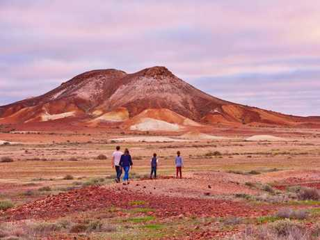 The spectacular red colours of Coober Pedy. Picture: Adam Bruzzone/SATC