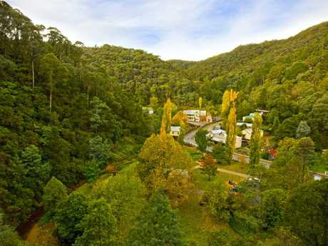 Gold rush town of Walhalla. Picture: Destination Gippsland