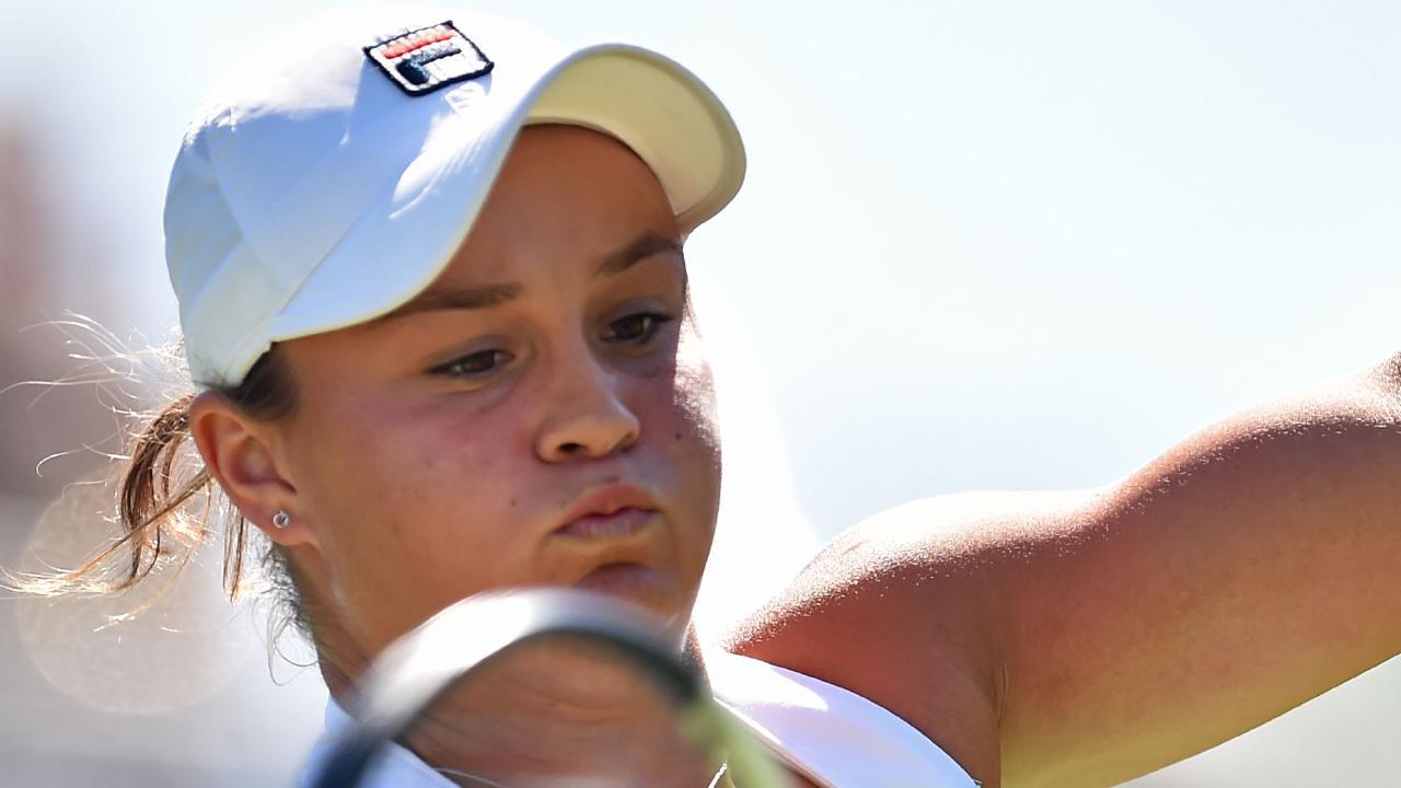 Australia's Ashleigh Barty is hoping to break her Wimbledon duck.