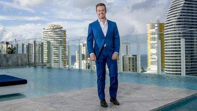 Gold Logie nominee Grant Denyer, at the TV WEEK Logie Awards Nominations Party at Nineteen at The Star, Gold Coast. Picture: Jerad Williams
