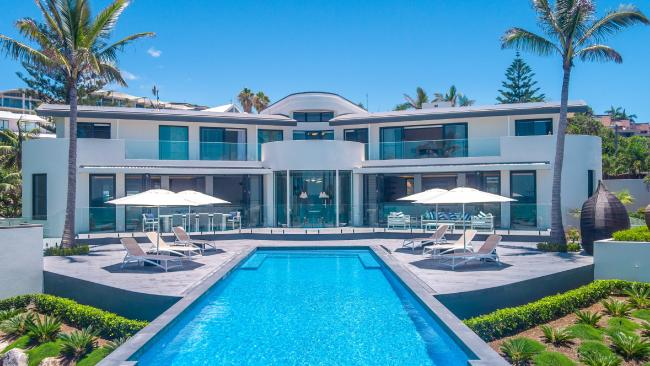 This mansion at 21-23 Webb Rd, Sunshine Beach, sold for $18m.