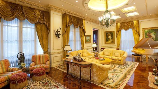 Inside the extravagant mansion at 36 Dickson Tce, Hamilton.