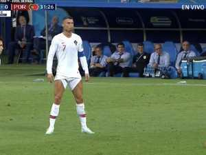 World loses it over Ronaldo's shorts