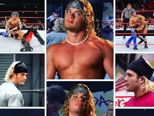 Matt Cappotelli was a star of the WWE. Picture: Instagram