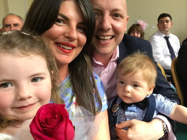 Georgie, Samantha, Stewart and Johnny Payne.