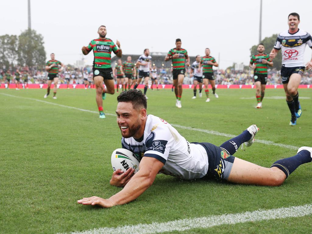 Antonio Winterstein has been a prolific try scorer for the Cowboys.