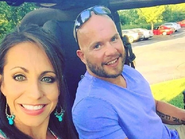 His wife Lindsay Cappotelli wrestler shared the news. Picture: Instagram