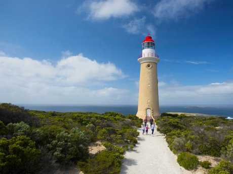 Cape du Couedic Lighthouse, Kangaroo Island. Picture: Adam Bruzzone/SATC