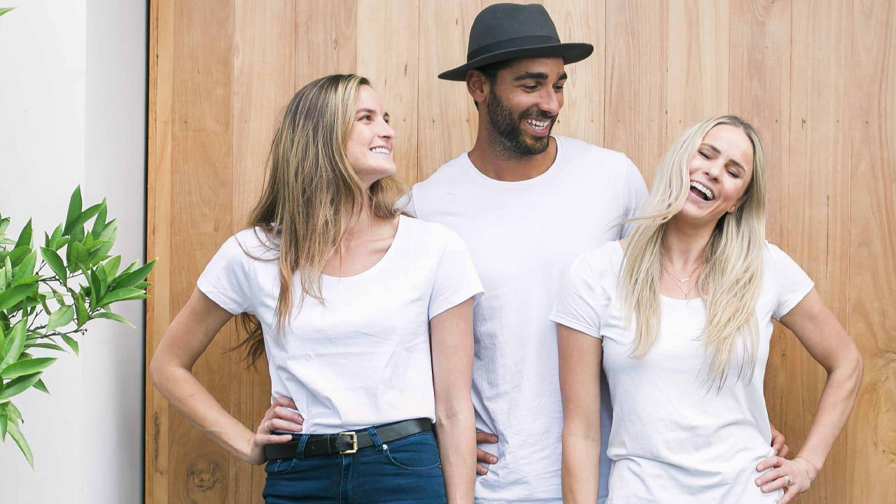 Golden Grind founders Sage Greenwood, Renwick Watts and Tahli Watts. Picture: Supplied
