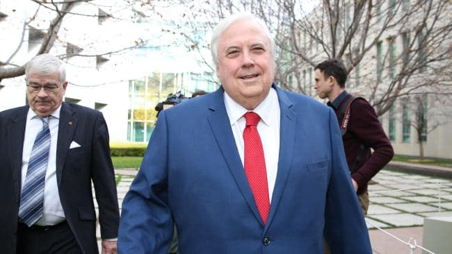 Clive Palmer paid $7.5 million for a house in Brisbane this year. Picture: Kym Smith.