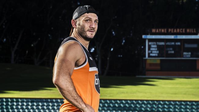 Tigers new recruit Robbie Farah returns to Leichardt Oval. Pic: Jenny Evans
