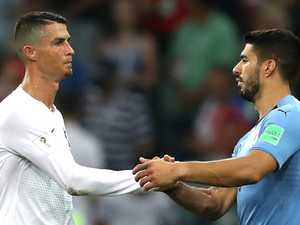 Uruguay tips Ronaldo and Portugal out of Cup
