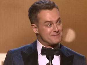'I WAS IN A HOLE': Gold Logie-winner's candid speech