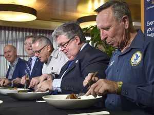 Lamb shanks for Lifeline in Toowoomba