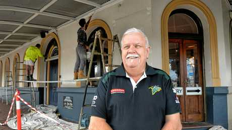 Greg Jacko Lyons oversees the upgrade of the Ipswich Jets Leagues Club