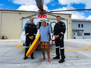 Surfing legend helps helicopter service