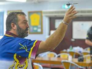 Classic darts open tournament hits target