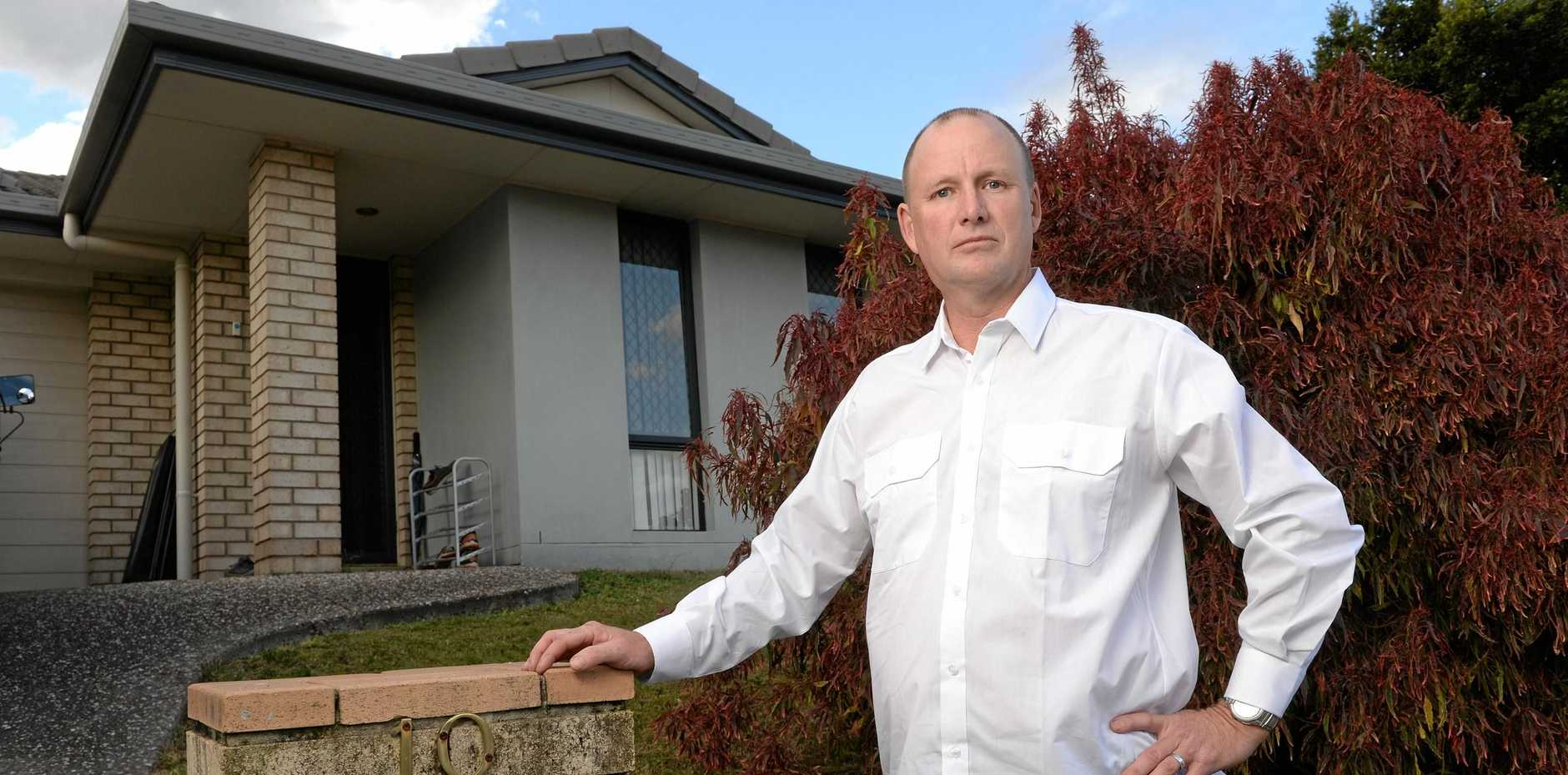 SALE: Glenn Christofferson wants the Ipswich City Council to buy back his home at Goodna that was rezoned after floods in 2011.