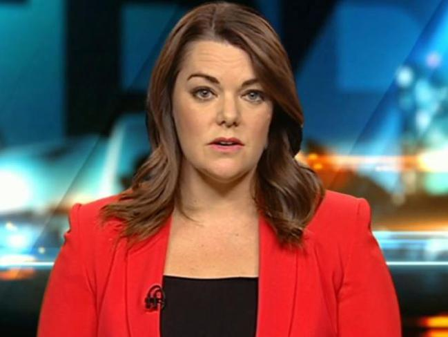 Sarah Hanson-Young on The Project. Picture: Channel 10