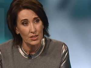 Virginia Trioli in a tense exchange with a senator