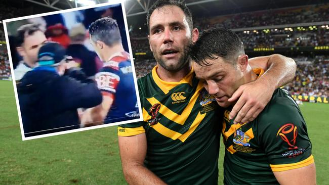 Did Cronk reveal the rift between himself and Cameron Smith?
