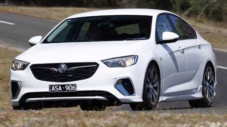 Supplied Cars Holden Commodore RS testing at Lang Lang. Picture: Supplied.