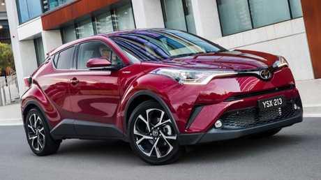 Supplied Cars Toyota C-HR