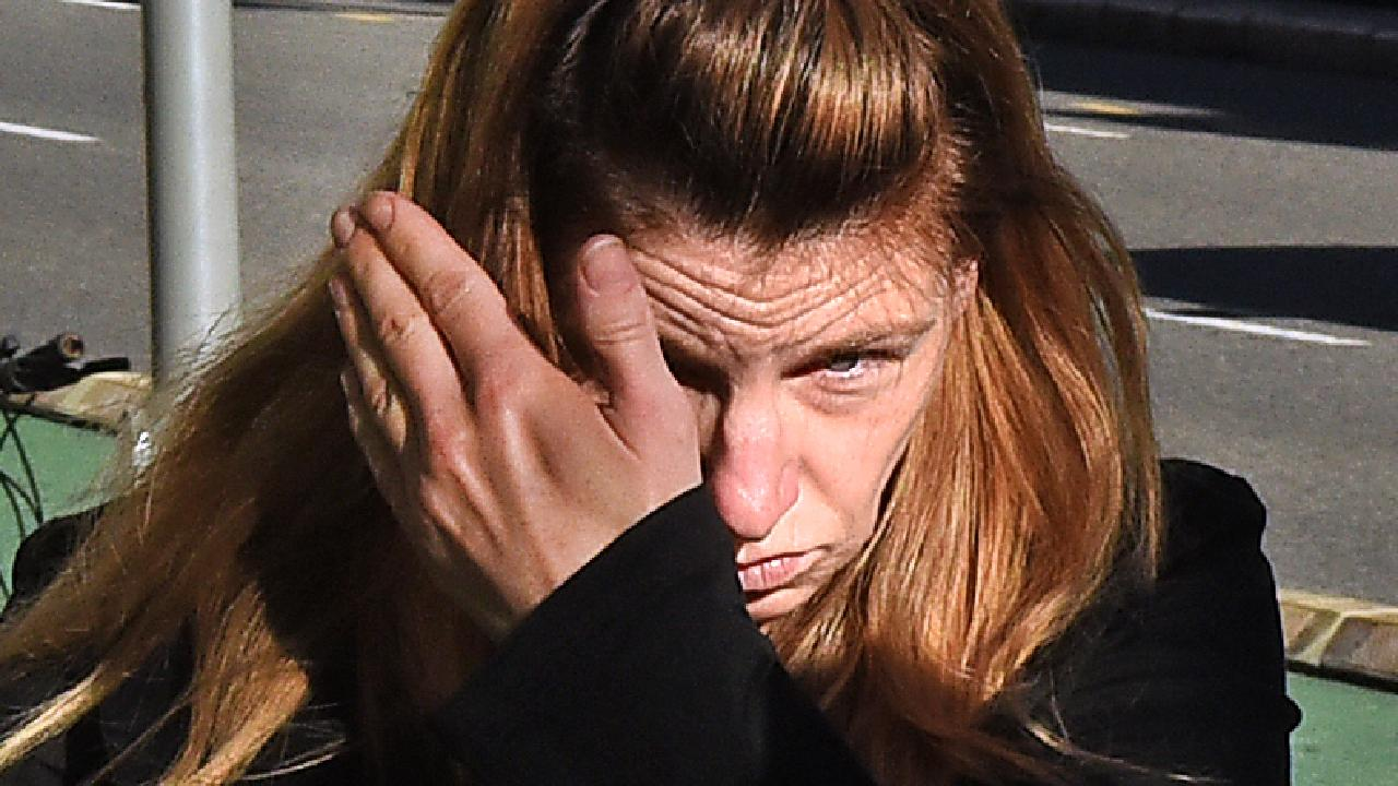 Jaleh Lea Forsythe received a suspended sentence for killing pedestrian Christopher Ross in 2017. Picture: AAP/John Gass