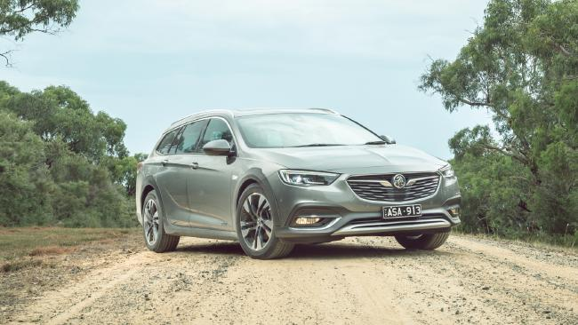 The new Holden Commodore.