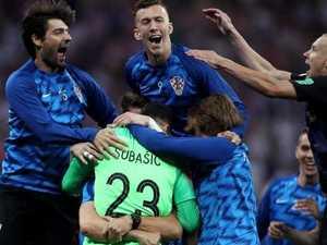 Croatia upset Denmark in shoot-out thriller