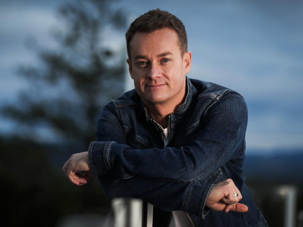 Grant Denyer opens up about his dark days of pain pills, depression and desperation. Picture: Nigel Hallett