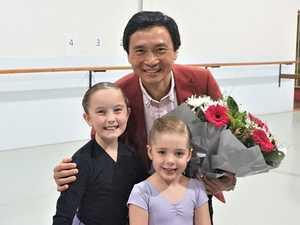 Mao's last dancer inspires young students in Toowoomba