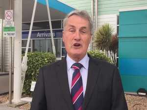Mayor Greg Williamson replies to jabs from Toowoomba