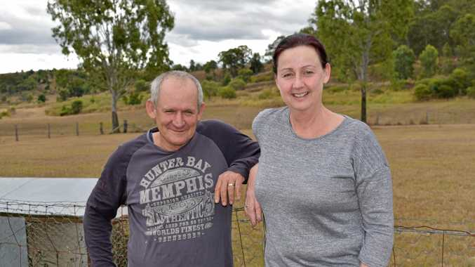 TREE CHANGE: Bernie and Allison Yourell recently moved from Esk to their new property in Laidley. The demand for hobby farms in the region is growing according to local real estate agents.