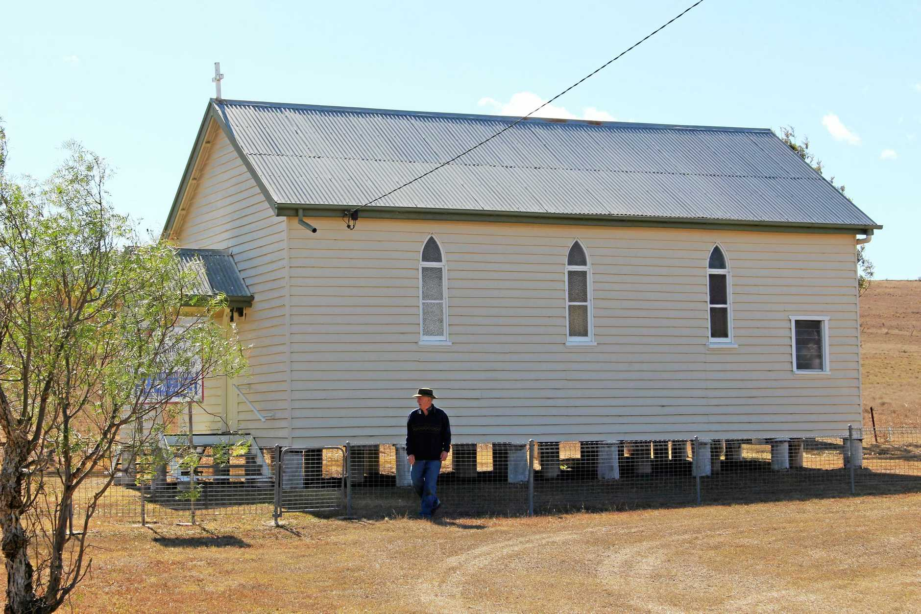 St Luke's Anglican church in Freestone will be sold via expressions of interest.