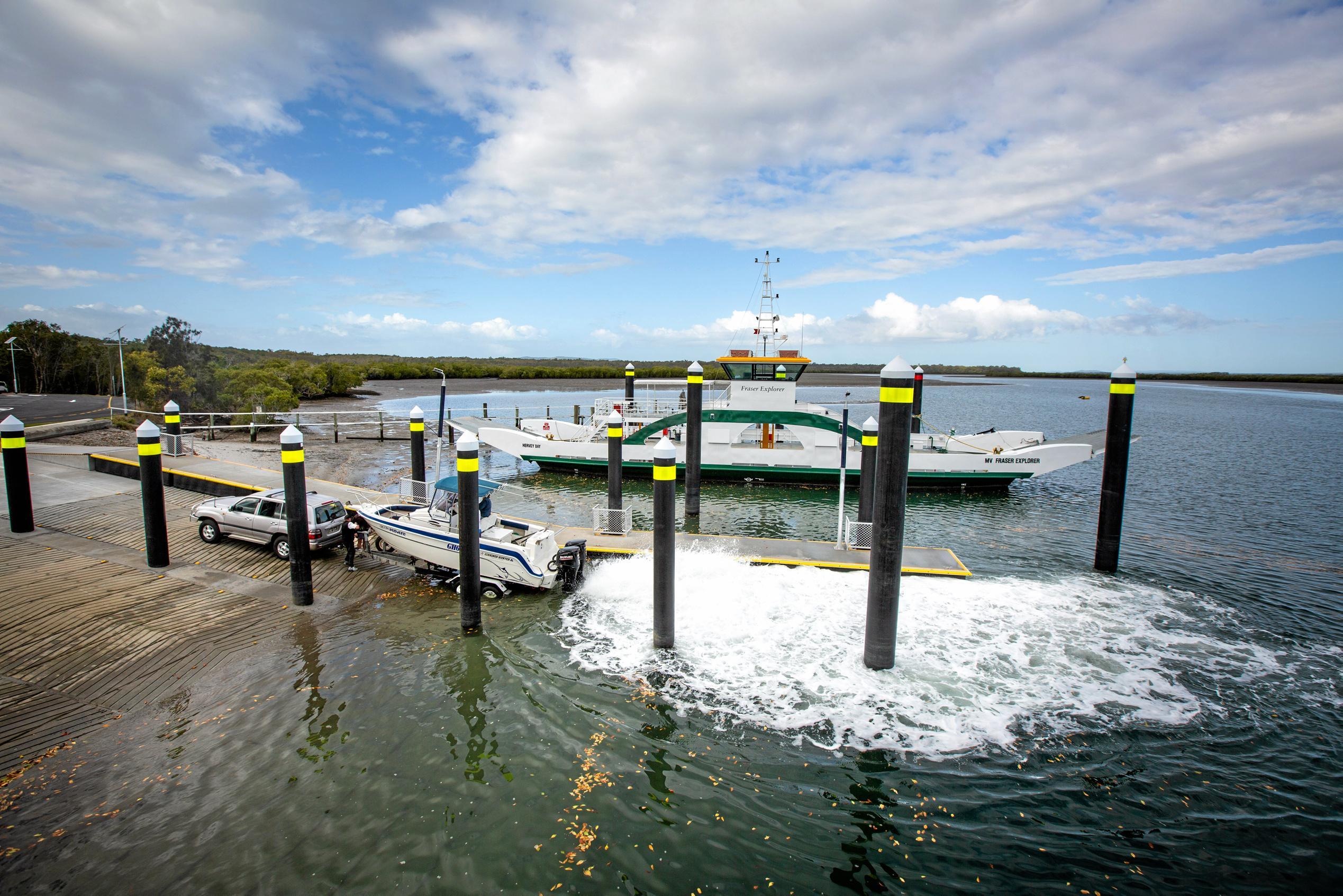 $2 1 million boat ramp completed north of Coast | Sunshine