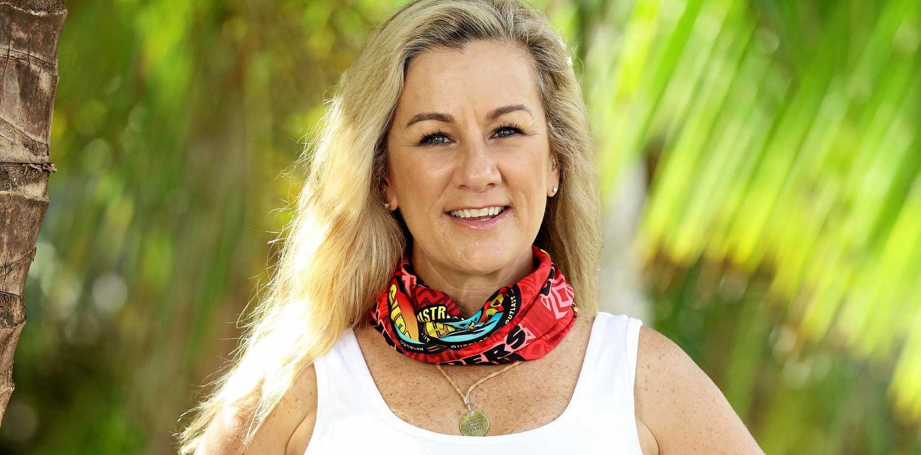 FIR FOR CHALLENGE: Sunshine Coast sales rep Anita is a contestant in the third season of Australian Survivor: Champions Vs Contenders.