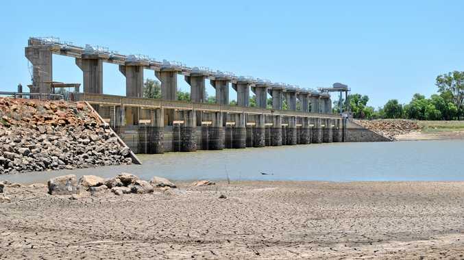 WATER WAYS: The E.J. Beardmore Dam.
