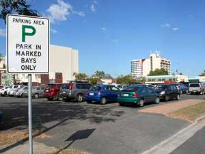 Paid parking is cut in two Rocky CBD car park